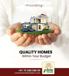 Providing Quality Homes Within Your Budget Brochure Layout, Brochure Design, Branding Design, Real Estate Advertising, Advertising Design, Visiting Card Design, Property Design, Instagram Post Template, Instagram Design