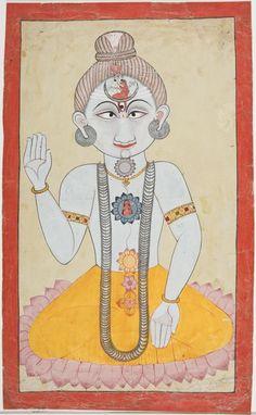 Mandi, India C. Naths sect purportedly began in the the or C. Om Namah Shivaya, Yoga Illustration, Mughal Paintings, India Painting, Lord Shiva Hd Wallpaper, Chakra Art, Vintage India, Indian Folk Art, Yoga Art