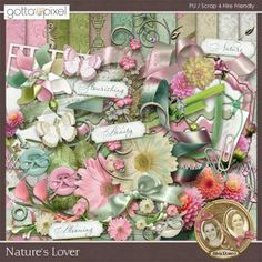 Nature's Lover page kit