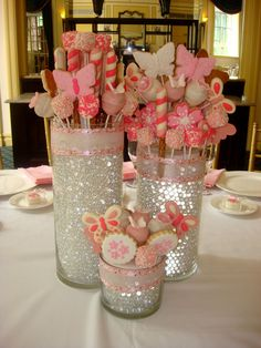 Furniture Impressive Homemade Baptism Centerpieces 21 Edible Love This Idea For The Bridal Shower Ideas Table L Marvelous 27 Christening Communion Fiesta Shower, Shower Party, Bridal Shower, Edible Centerpieces, Centerpiece Ideas, Wedding Shower Centerpieces, Quinceanera Centerpieces, Flower Centerpieces, Girl Birthday