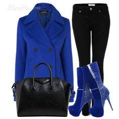 Blue p.coat