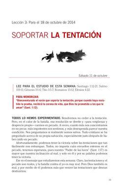 Leccion Soportar la tentación by Escuela Sabatica via slideshare. #LESAdv Descargue aqui: http://gramadal.wordpress.com/