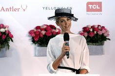 Myer Fashions on the Field | Victoria Racing Club Racewear fashion Derby Day 2015