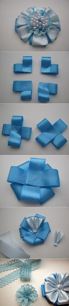 Diy Beautiful Blue Flower | DIY & Crafts Tutorials
