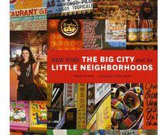 "Livro: ""New York: The Big City and his Little Neighborhoods"""