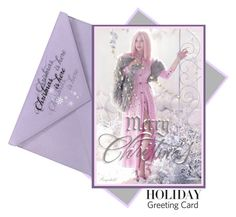 """""""Holiday Greeting Card"""" by ragnh-mjos ❤ liked on Polyvore featuring art, holidaygreetingcard and PVStyleInsiders"""