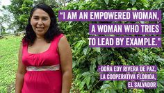 Meet Dona Edy Rivera Celebrate the this Lead By Example, Women's Rights, Media Center, Ladies Day, Farmer, Equality, Meet, Coffee, Celebrities