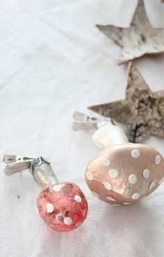 .candle clipped ornaments