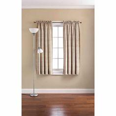 Mainstays Strata Room Darkening Curtain Panel $7.17-9