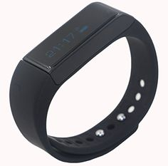 Juboury I5 Plus Wireless Fitness Tracker Fitbit Band Bluetooth Sports Bracelet with Pedometer Sleep Monitoring Calories Track for Daily Activity and Sleep (Black) Juboury http://www.amazon.com/dp/B011BCUU7S/ref=cm_sw_r_pi_dp_t6UHwb01J712D