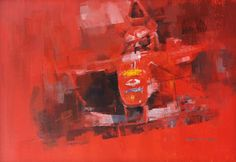 The Red Baron. Michael Schumacher, Ferrari F2002.