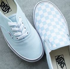 #vans Blue Vans Shoes, Baby Blue Shoes, New Shoes, Dream Shoes, Crazy Shoes, Tenis Vans, Vans Sneakers, Converse, Orange Vans