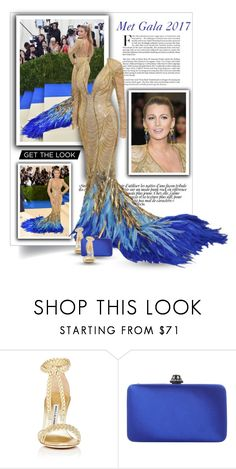 """""""Get the look: Met Gala 2017 - Blake Lively"""" by bliznec-anna ❤ liked on Polyvore featuring GALA, Manolo Blahnik, Dune, MetGala, blakelively and polyvorefashion"""