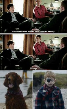Once again Sherlock foreshadowing