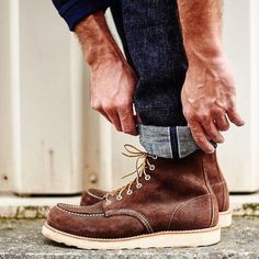 "okayamadenim: ""Learn from the best - some just rock that cuff right. @raw.denim shows us what's up in his PBJ XX-18oz-013s. http://ift.tt/2egflJ7 """
