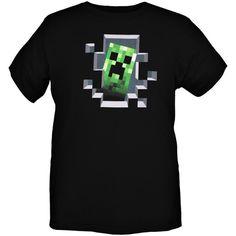 Jinx Minecraft Creeper Inside T-Shirt | Hot Topic ($17)