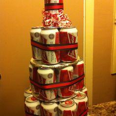 Budweiser B-Day Cake