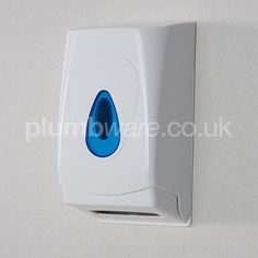 Multi-Flat Tissue Dispenser. A sturdy design suitable for smaller spaces such as small offices, restaurants and other workplaces.