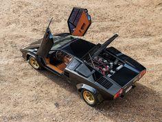 A very rare 1979 Lamborghini Countach LP400 Series 1 by Bertone