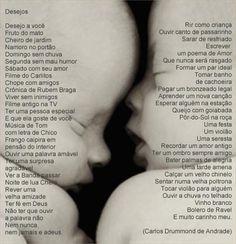 Desejos - Carlos Drummond de Andrade