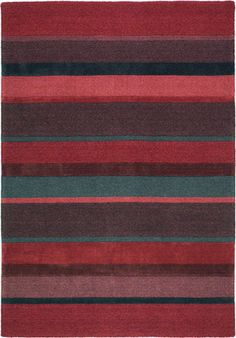modernrugs.com red pink blue striped rug