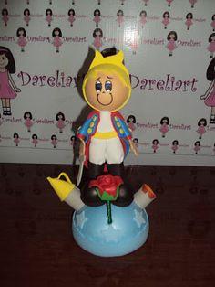 Dareliart: Pequeno Príncipe no Planeta em Eva 3d - Encomenda ...