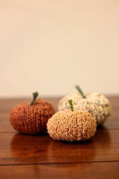 Knit Pumpkin Pattern
