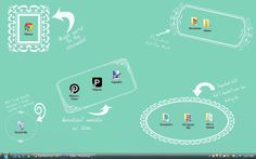 Funny/random desktop background for ladies (with downloadable version). :-)