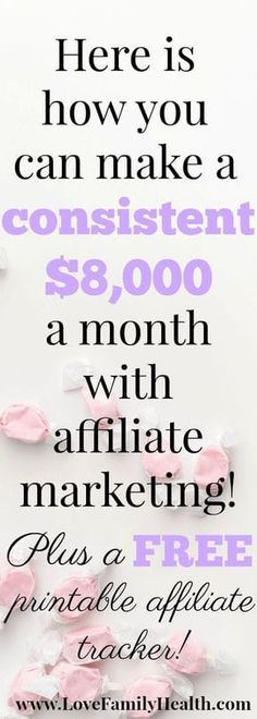 Make money blogging with a little help from affiliate marketing!