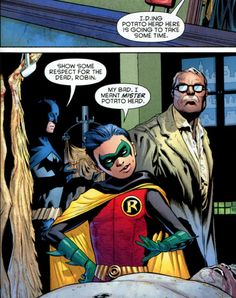 "skrab: "" Oh Damian, you little monkey (From Batman and Robin issue "" Damian Wayne, Harley Quinn, Joker, Comic Book Characters, Comic Books, Marvel Dc Comics, Cosmic Comics, Batman Family, Batman Vs Superman"