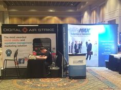 Digital Air Strike (booth number 203), AutoMax Recruiting & Training (booth number 201)