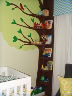 Power Broker Episode 105 Nursery Tree Bookcase