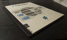 / ra:re / magazine by Aleksander Isachsen, via Behance