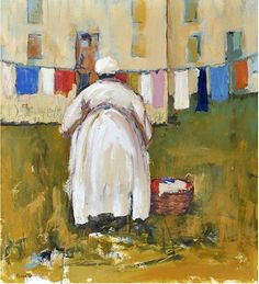 Lena by Eloise Randolph Acrylic ~ x Laundry Art, Africa Art, Vintage Iron, Russian Art, Beautiful Paintings, Black Art, Art Forms, Art Images, Line Art
