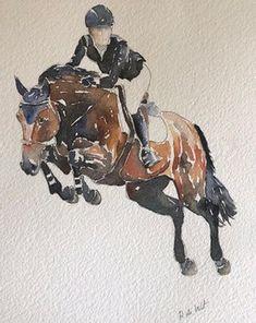 Horse Sketch, Horse Quotes, Chalk Pastels, Equestrian, Moose Art, My Arts, Horses, Watercolor, Drawings