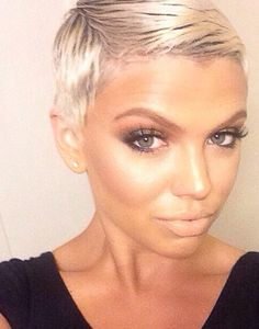 When I hit like 40 I'm going back to the pixie xo