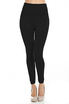 PLUS SIZE Solid High Waisted Fleece Leggings (Black) VIV Collection http://smile.amazon.com/dp/B015HYIYU6/ref=cm_sw_r_pi_dp_QdPkwb013WA71