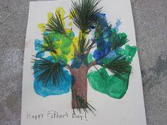 Go Explore Nature: Fun Friday: Handprint Tree