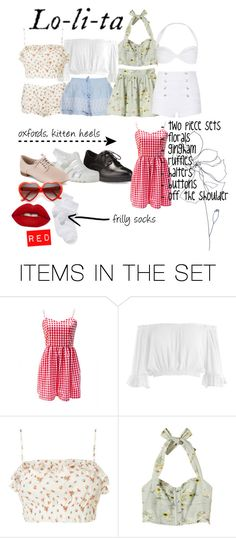"""Lolita 1997"" by jrxsv ❤ liked on Polyvore featuring art, lolita, nymphet and 1997"