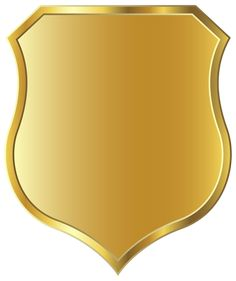 Golden Badge Template PNG Clipart Image