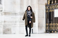 Spotted in Paris: Gabrielle Rul shot by Sandra Semburg #meyba #meybabarcelona #warm-up #streetstyle