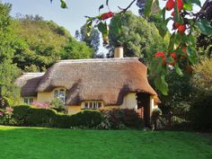 A Thatched Roof Cottage in South West England. (by allan5819 (Allan McKever))