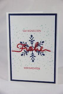 Frohe Weihnachten Stampin Up, Cover, Art, Fall Winter, Christmas, Crafting, Art Background, Kunst, Stamping Up