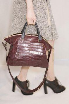#Chloe A/W '13 #bag #PFW