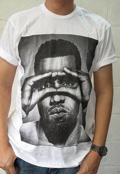 KANYE WEST Hip Hop Rapper T-shirt