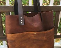 Valentines Day Sale Mixed Leather Tote* Boho Leather Tote* Soft Leather Tote* Hobo Style* Leather Market Bag* Large Leather Handbag* Hand St