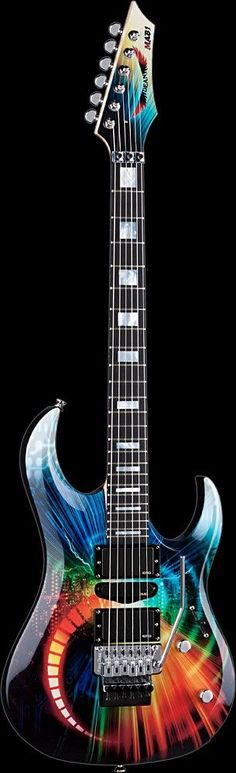 .guitar colored