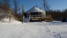 Living In A Yurt Full Time - Rainier Yurts