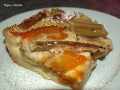Clafoutis rhubarbe / abricots. (Recettes au Companion ou pas ...)