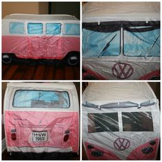 The Cutest Play Tent You Will Ever See! A VW Camper Van Tent! Come take a walk down memory lane.